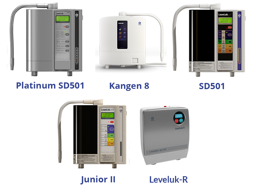 Kangen Water Machines Available To You
